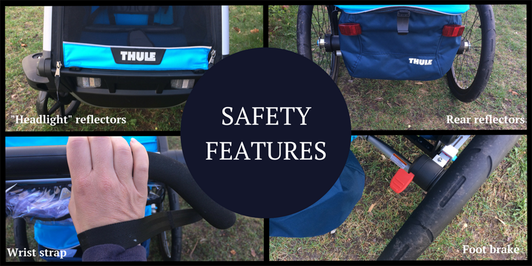 Thule Chariot Cross Safety Features