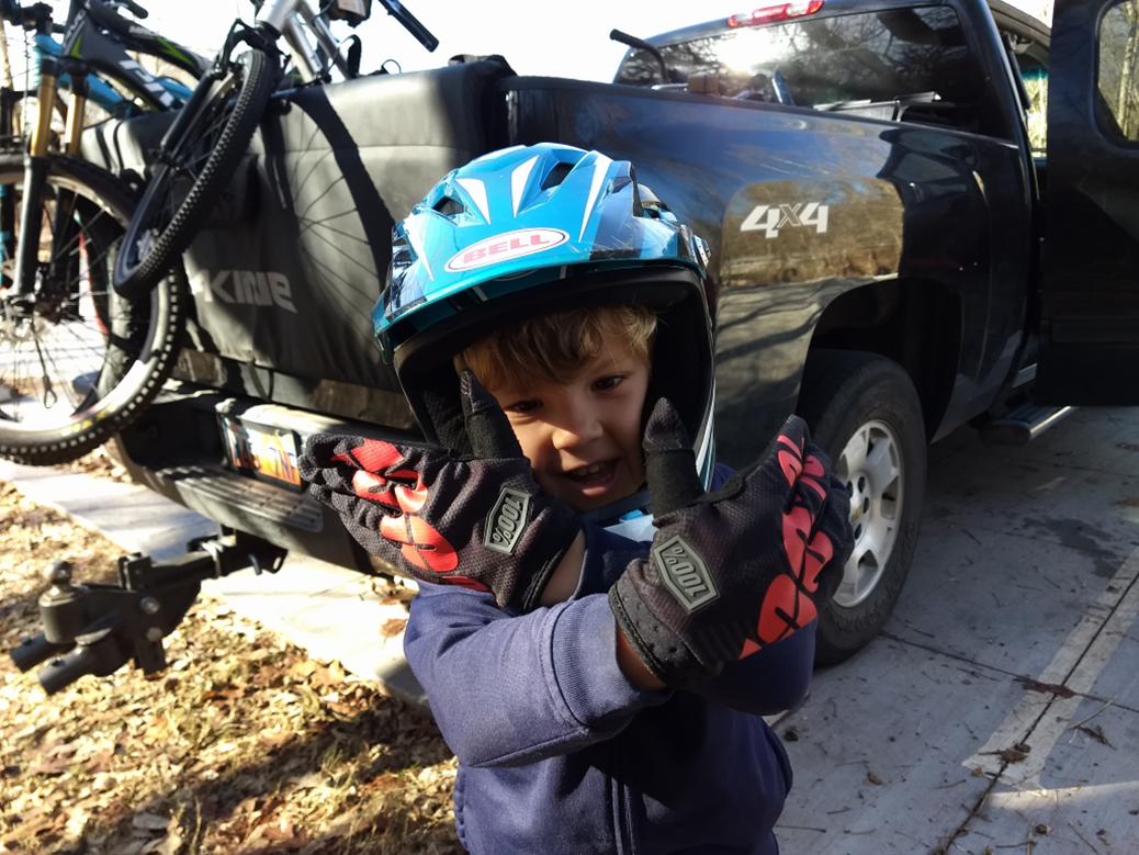 100% kids mountain bike gloves