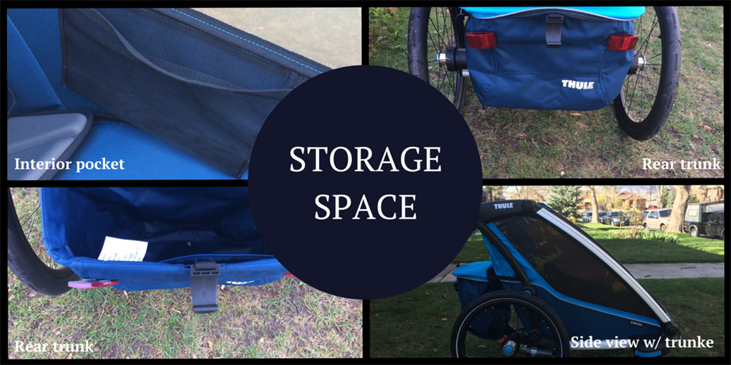 Thule Chariot Cross Storage Space