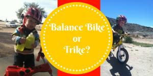 Balance Bike or Trike