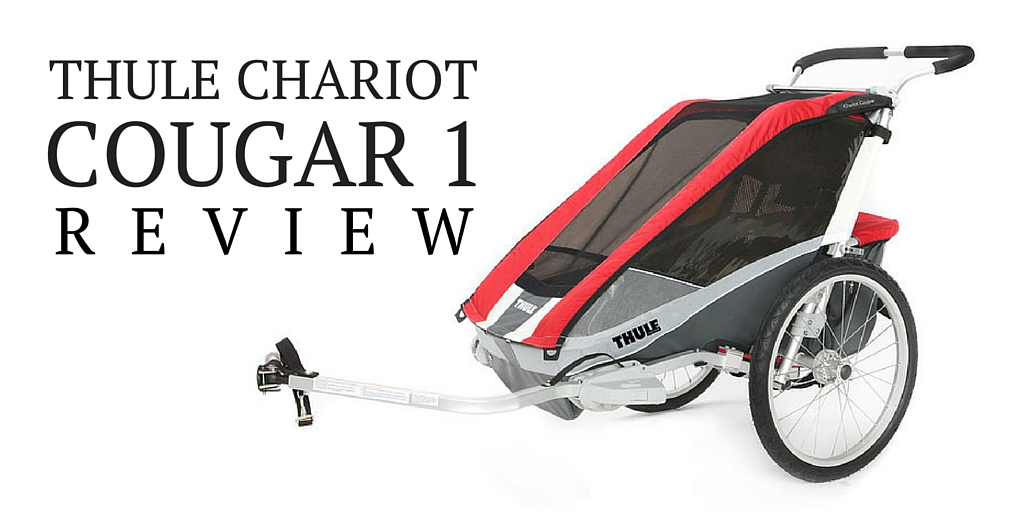 thule chariot cougar 1 bike trailer review rascal rides. Black Bedroom Furniture Sets. Home Design Ideas