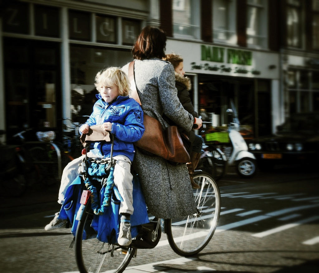 Biking with Kids in the Netherlands