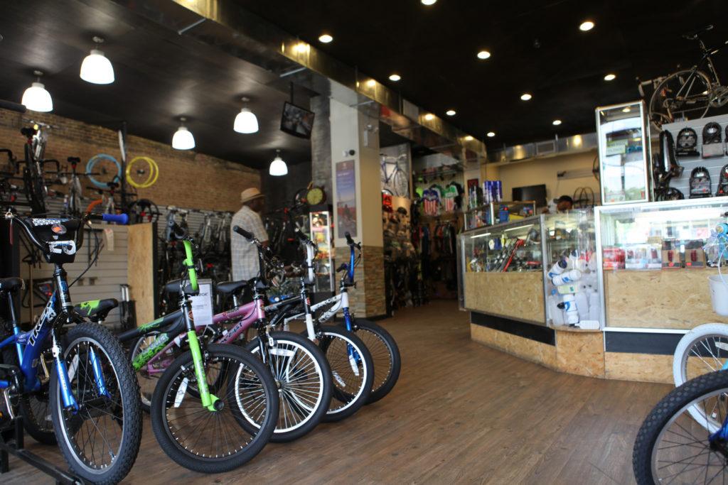 Buying Kids Bikes at a Local Bike Shop