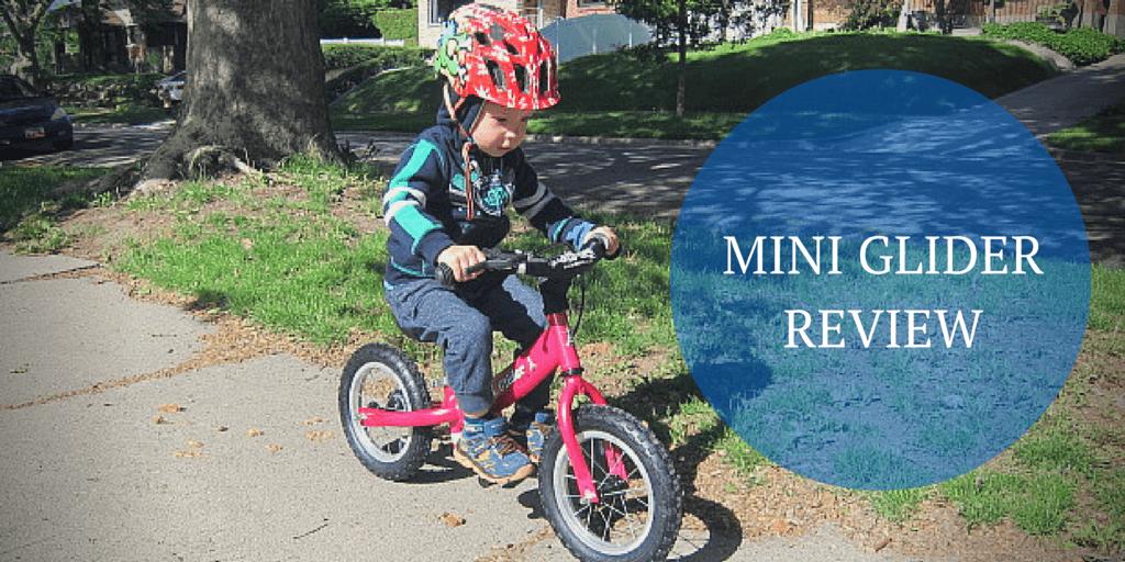 """Glide Bikes Mini Glider 12"""" Balance Bike Review"""