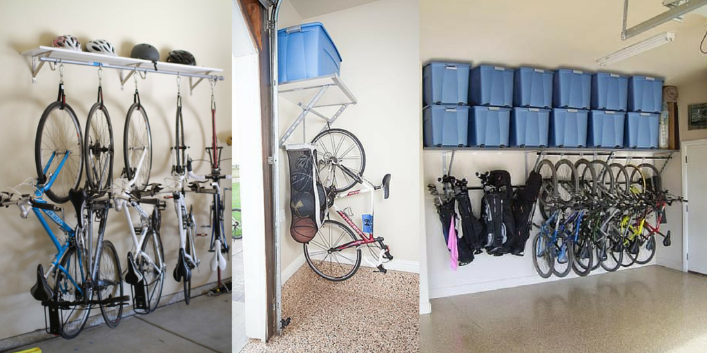Shelf and bike storage
