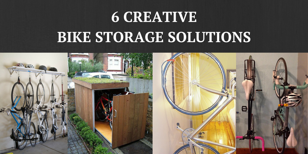 Six Creative Bike Storage Solutions