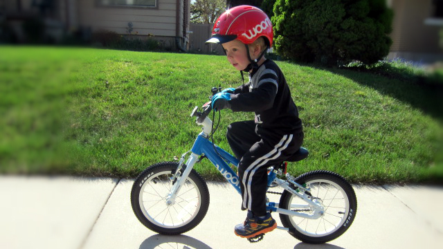 "Woom 2 Kids 14"" Pedal Bike"
