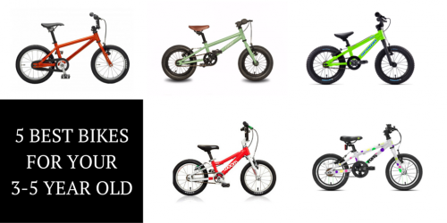 The 5 Best Bikes for Your 3-5 Year Old