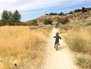 Mountain biking with Kali Chakra Helmet