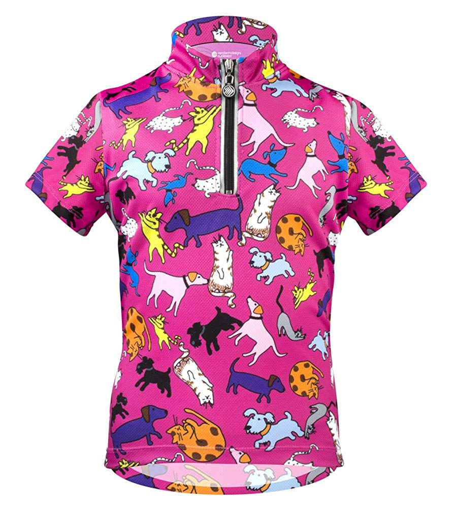 ATD Cats and Dogs Children's Cycling Jersey