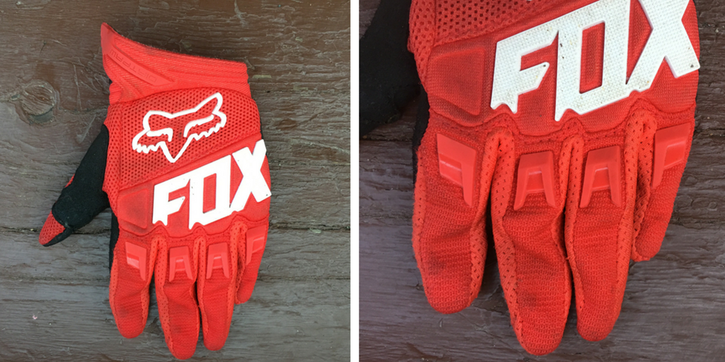 fox dirtpaw kids gloves