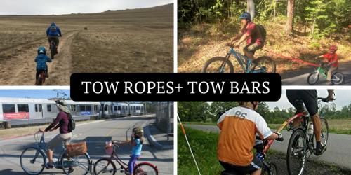 Bike Tow Ropes and Bike Tow Bars