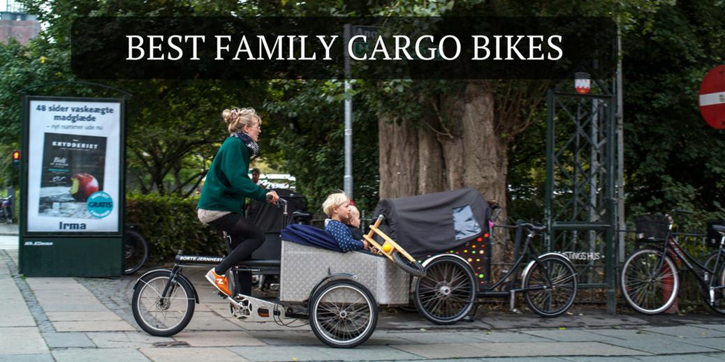 Best Family Cargo Bikes