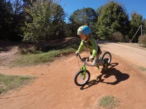 Little Big Bike as a Balance Bike