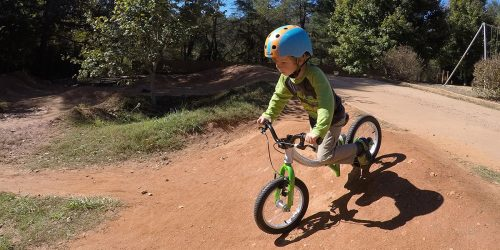 Little Big Bike as a Balance Bike