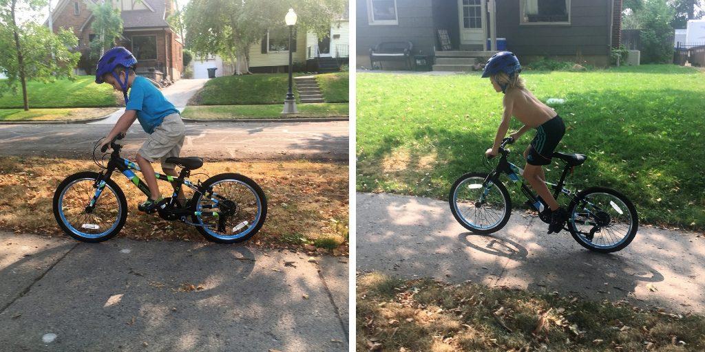 Guardian Kids Bike sizing