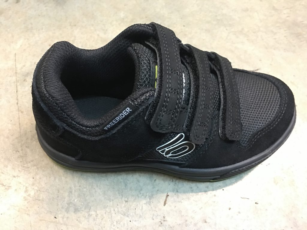 five ten freerider kids velcro shoe