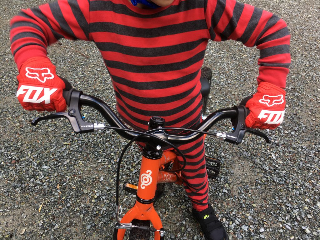 Dirtpaw Kids MTB gloves