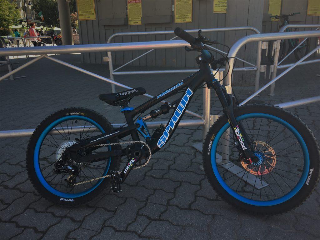 Spawn Rokkusuta Kids 20 Inch Mountain Bike
