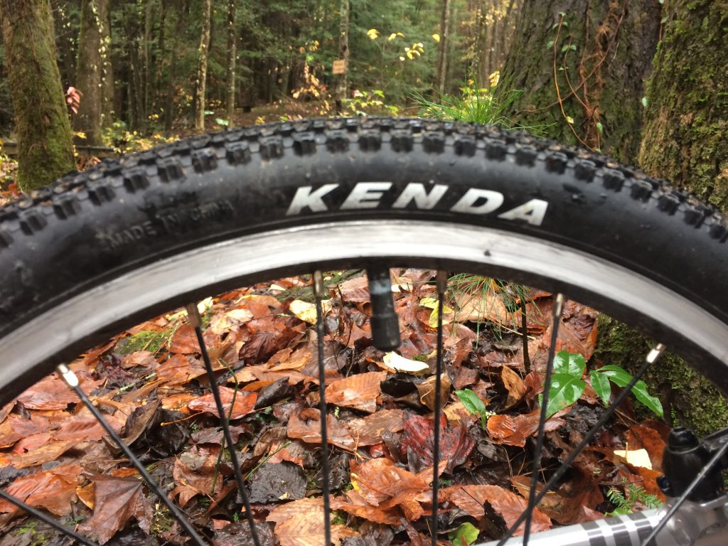 Kenda Tires on the Alpha Three