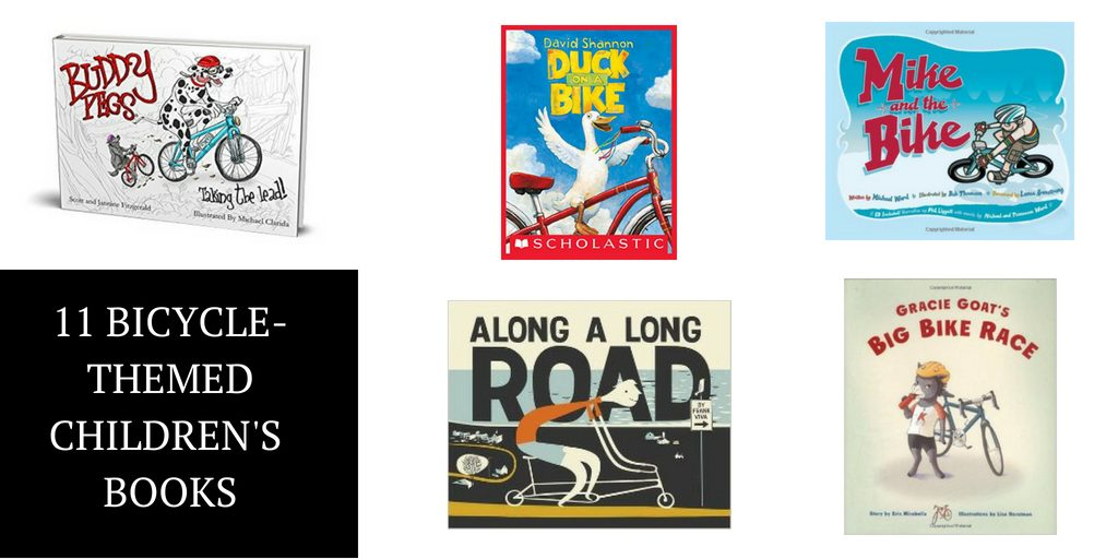 Kids Books about Bikes