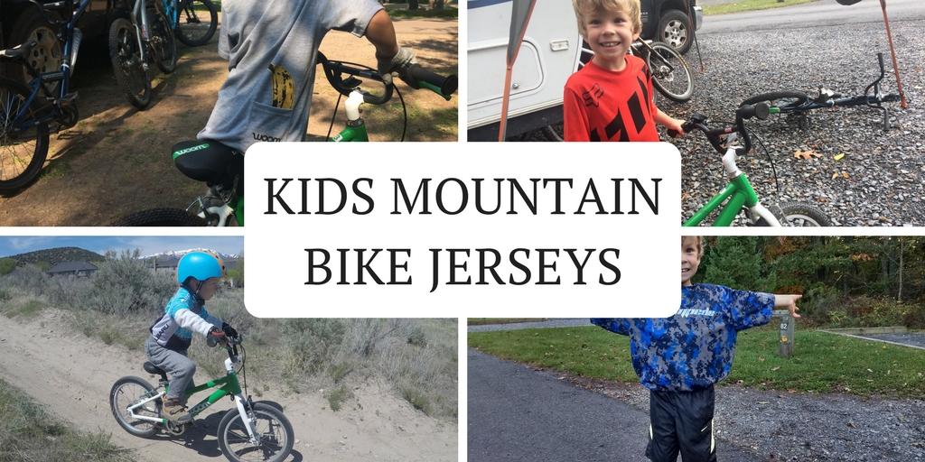 Kids Mountain Bike Jerseys