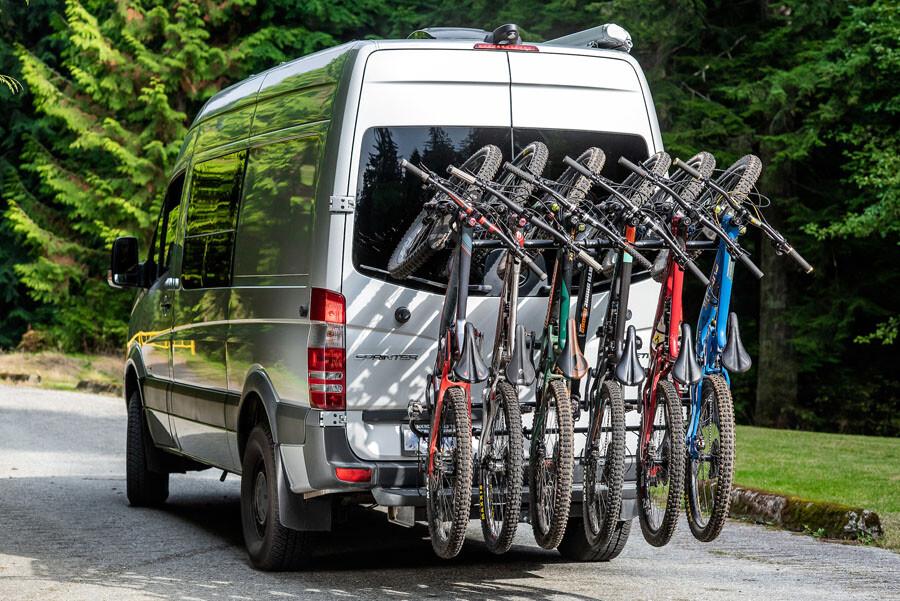North Shore 6 bike rack