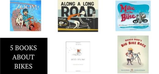 5 Children's Books About Bikes