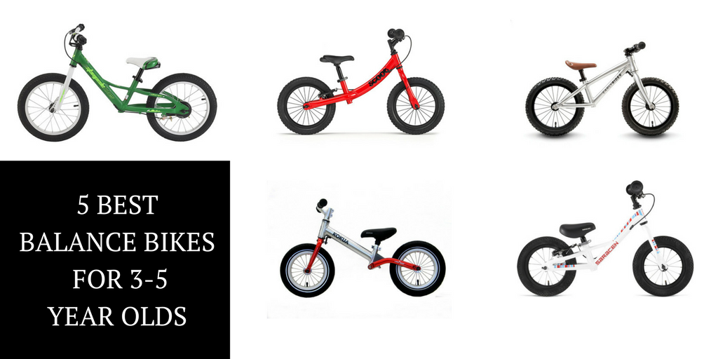 The 5 Best Balance Bikes for Your 3 to 5 Year Old - Rascal Rides