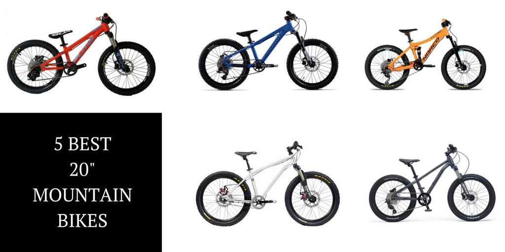 "The 5 Best 20"" Mountain Bikes"