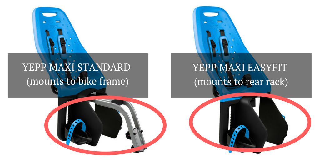 Yepp Maxi Standard vs Yepp Maxi Easyfit