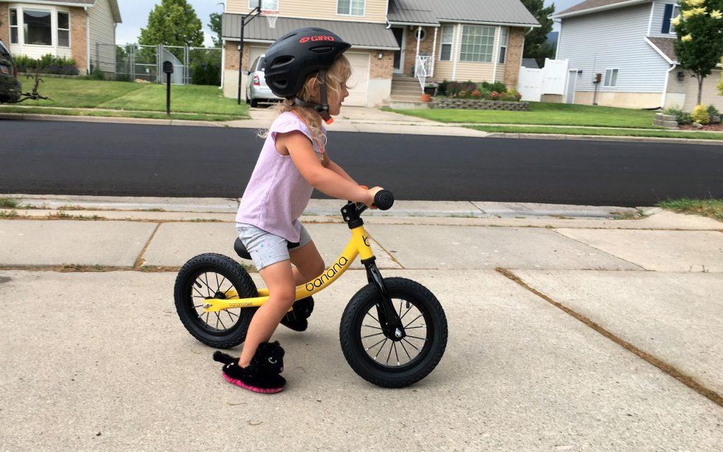 banana bike gt in use