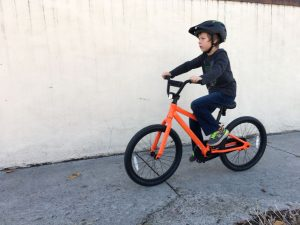 batch bicycles kids bike in action