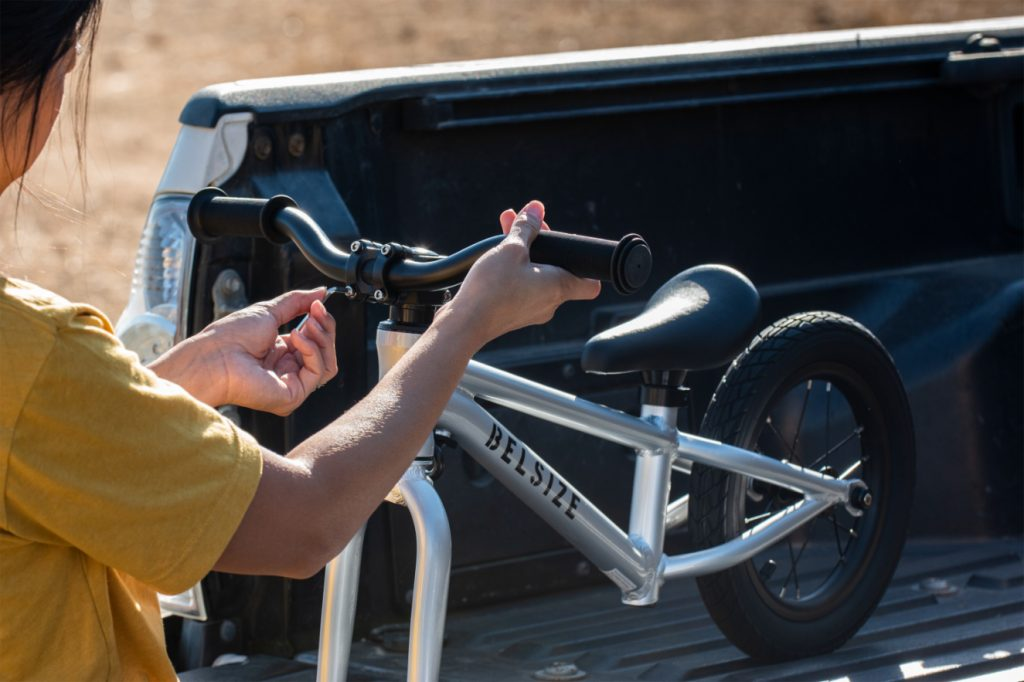 belsize balance bike assembly