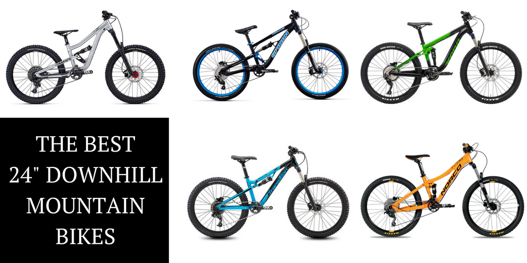 11 Best 24 Quot Downhill Full Suspension Mountain Bikes For
