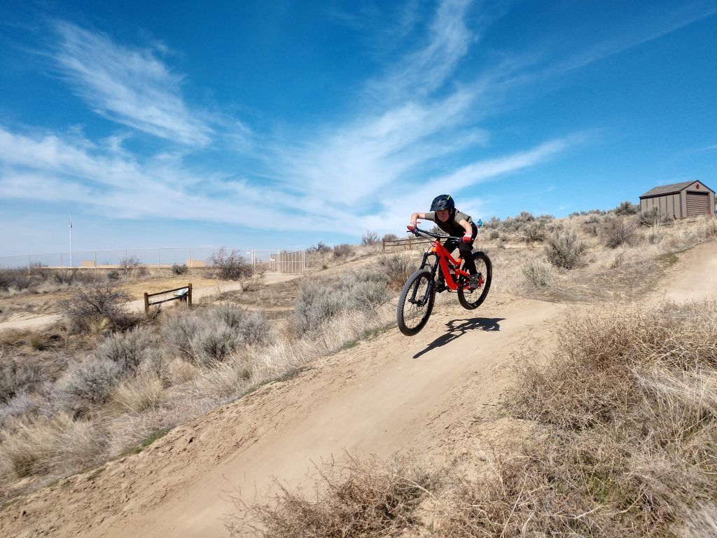 bike park on the trailcraft maxwell