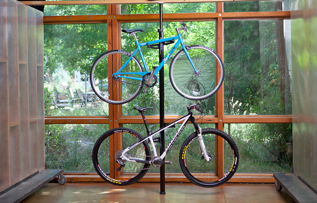 bike rack storage