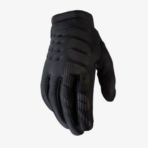 100% brisker kids bike glove