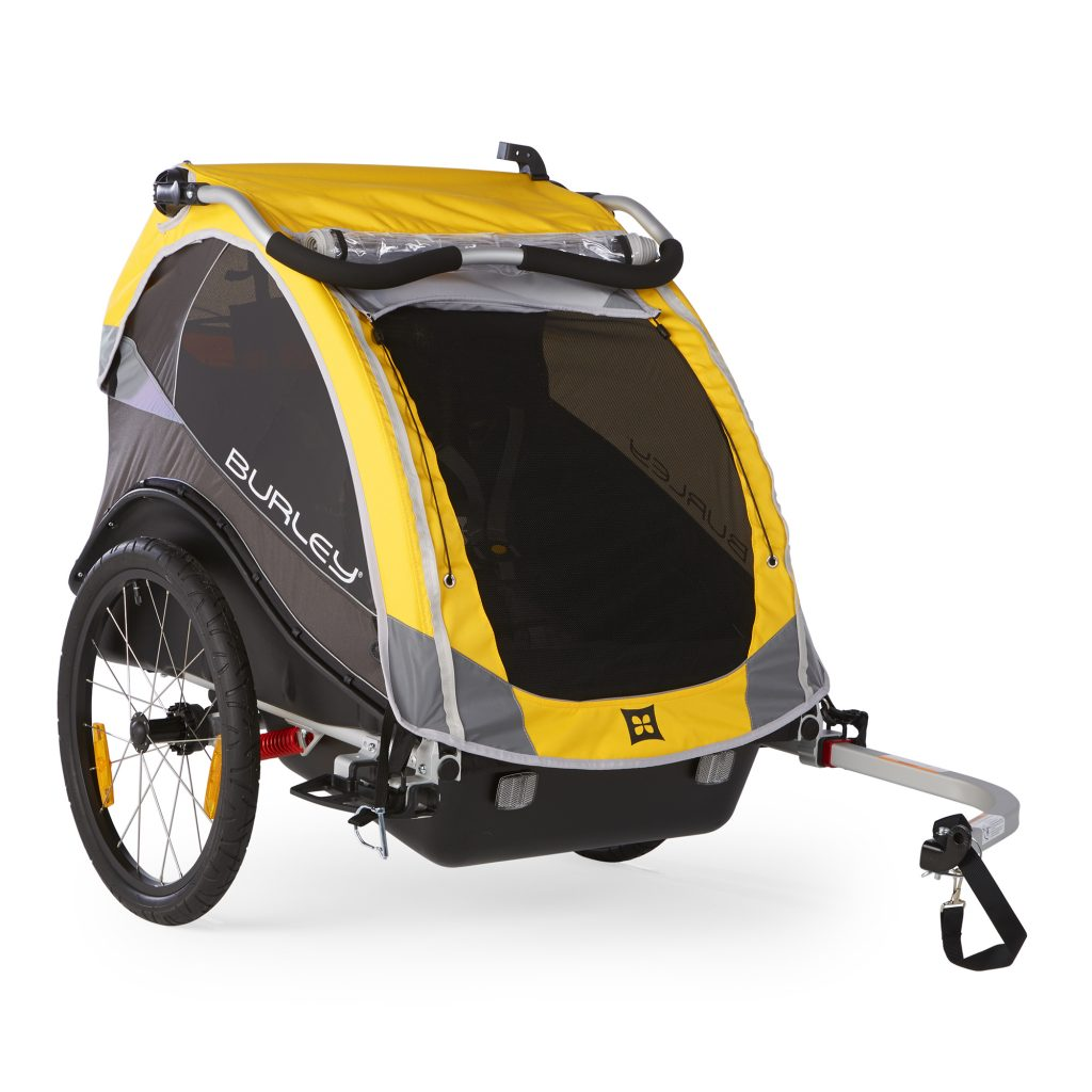 burley cub double bike trailer