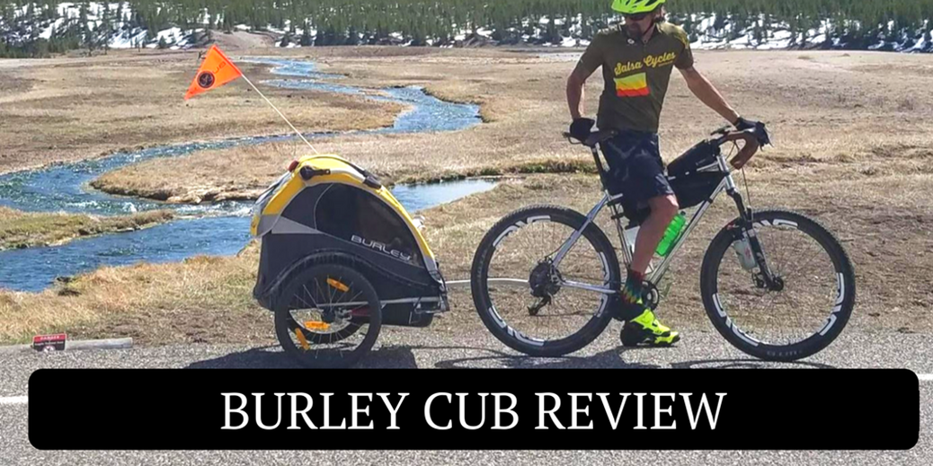 Burley Cub Bicycle Trailer Review - Rascal Rides