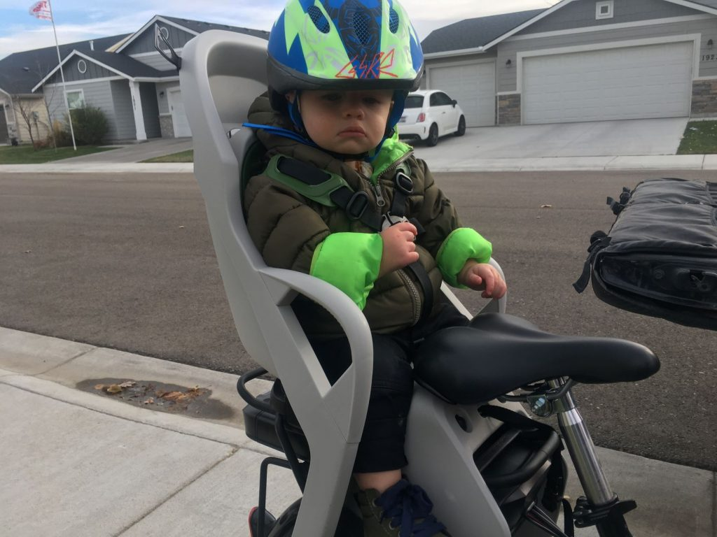 burley dash RM child bike seat review