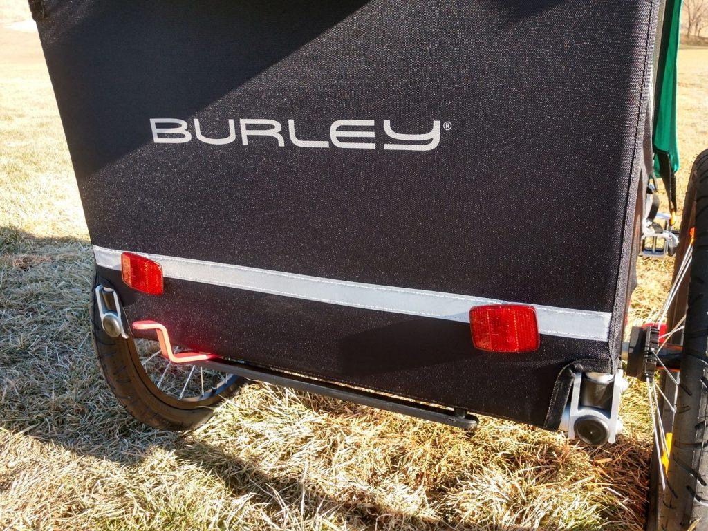 burley encore x foot brake