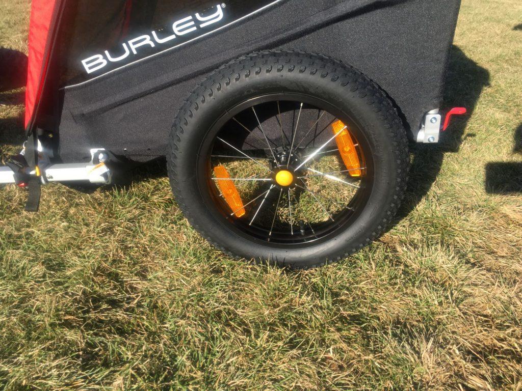 burley honey bee fat tires