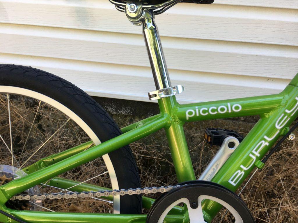 burley piccolo quick-release seatpost
