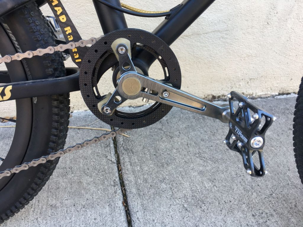 carbon xs chainring and crank