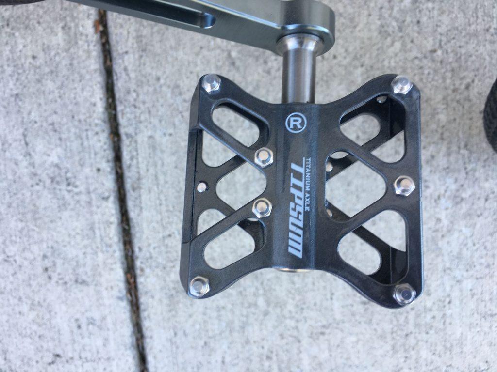 carbon xs pedals