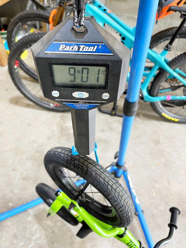 co op rev 12 balance bike weight