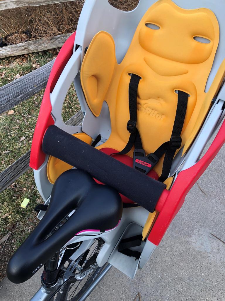 copilot bike seat
