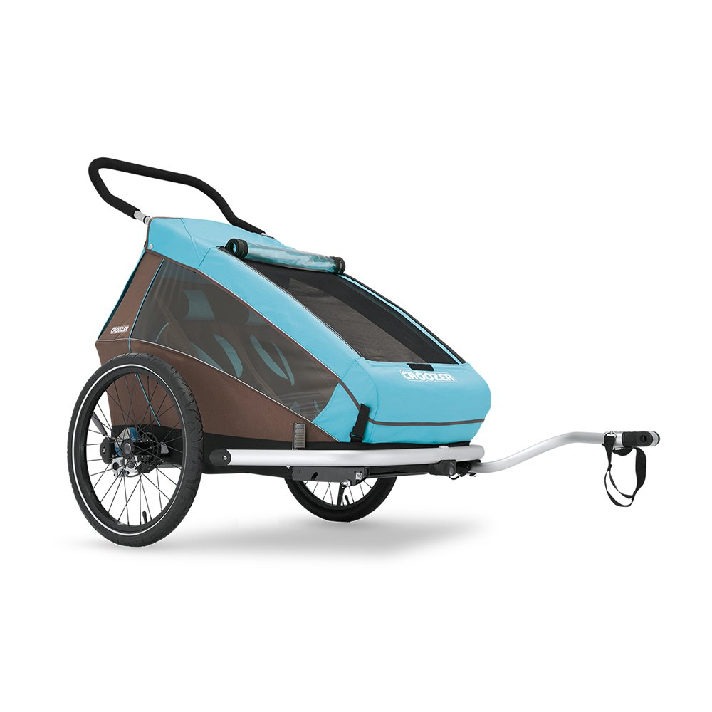 croozer kid plus for 2 double bicycle trailer