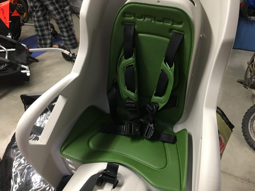 dash seat padding